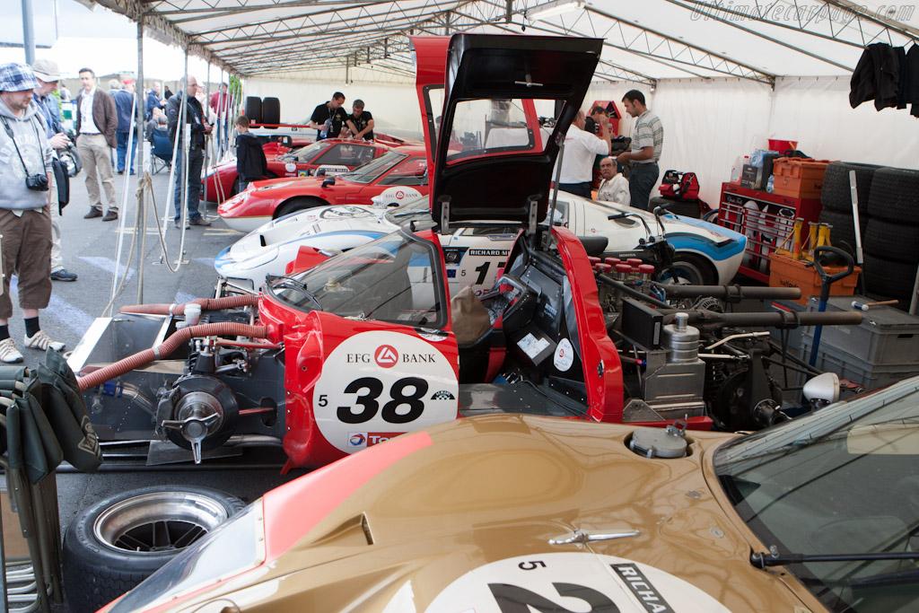 Plateau 5    - 2012 Le Mans Classic