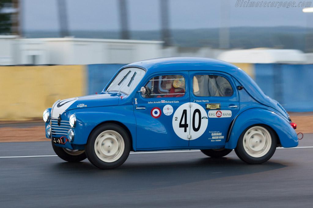 Renault 4CV    - 2012 Le Mans Classic