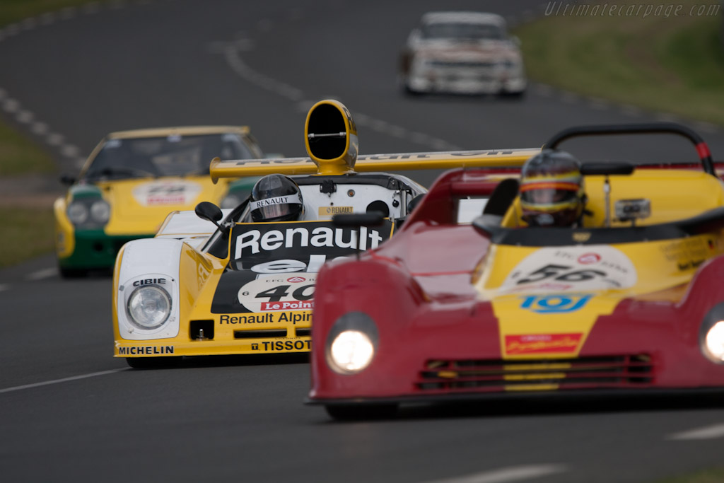 Renault Alpine A442B - Chassis: 442/3   - 2012 Le Mans Classic