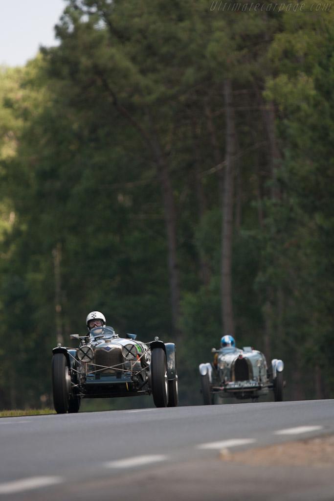 Riley Brooklands    - 2012 Le Mans Classic