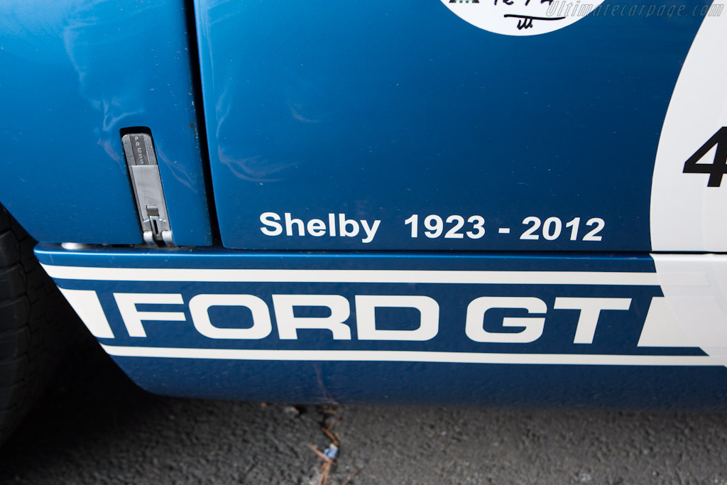 Shelby remembered    - 2012 Le Mans Classic