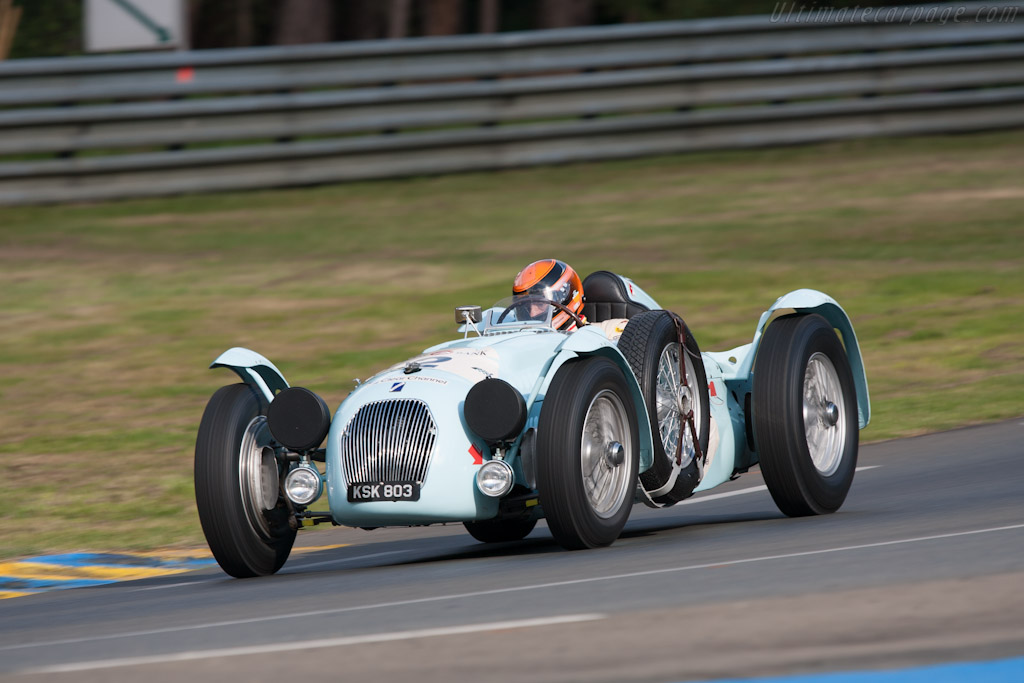 Talbot Lago Monoplace Decalee - Chassis: 90130   - 2012 Le Mans Classic