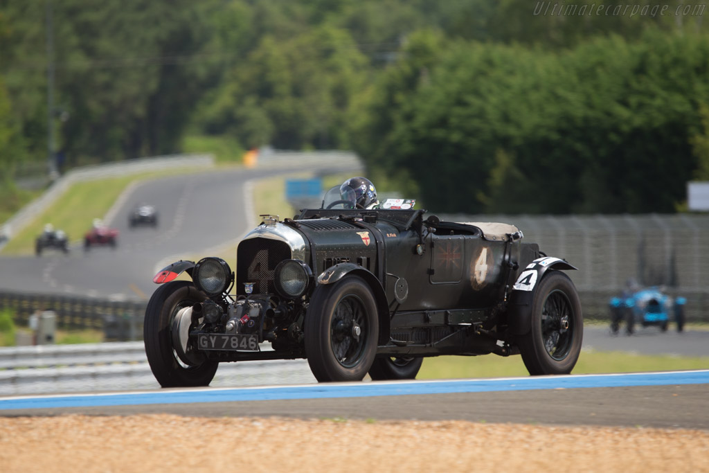 Bentley 4 5 Litre Blower Chassis Ms 3950 Driver