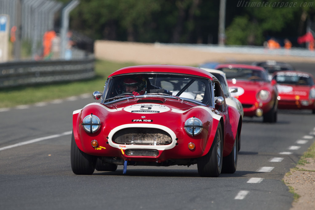 AC Shelby Cobra 289 - Chassis: COB6026 - Driver: Michael Hinderer / Peter Hinderer  - 2014 Le Mans Classic