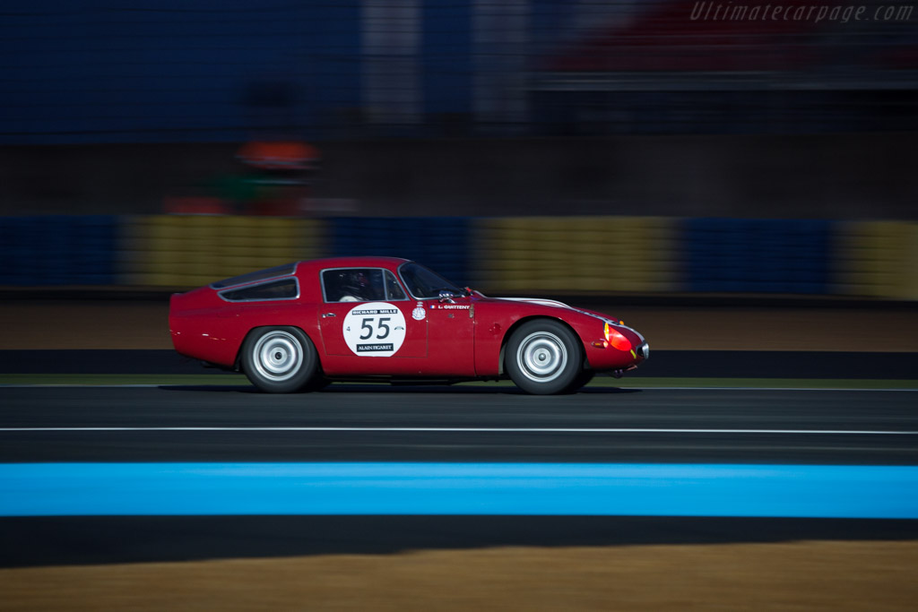 Alfa Romeo TZ - Chassis: AR750098 - Driver: Lucien Guitteny  - 2014 Le Mans Classic
