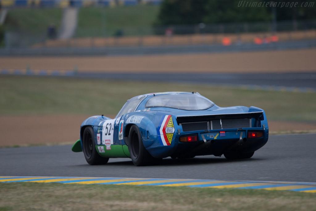 Alpine A220 - Chassis: 1736 - Driver: Sylvain Stepak / Francois Bourdin / Darren Wilson  - 2014 Le Mans Classic