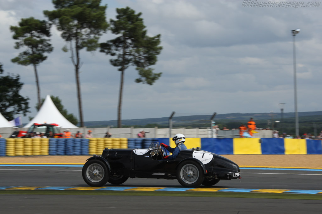 Aston Martin 2 Litre Speed - Chassis: B7/733/LS - Driver: Paul Chase-Gardener / David Allen  - 2014 Le Mans Classic