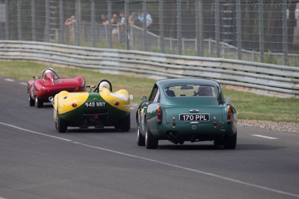 Aston Martin DB4 GT - Chassis: DB4GT/0110/R - Driver: Ian Dalglish / Joe Twyman  - 2014 Le Mans Classic