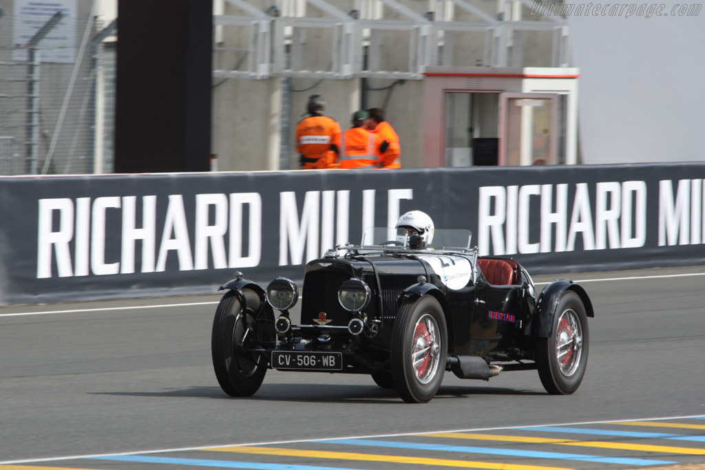 Aston Martin Mk II  - Driver: Jean-Marc Krief / Philippe Granier  - 2014 Le Mans Classic
