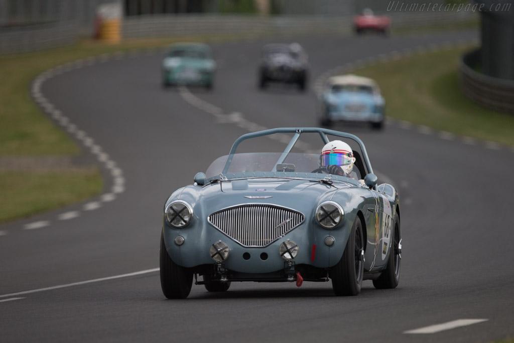 Austin Healey 100 M  - Driver: Olivier Blanpain / Vincent Janssens  - 2014 Le Mans Classic