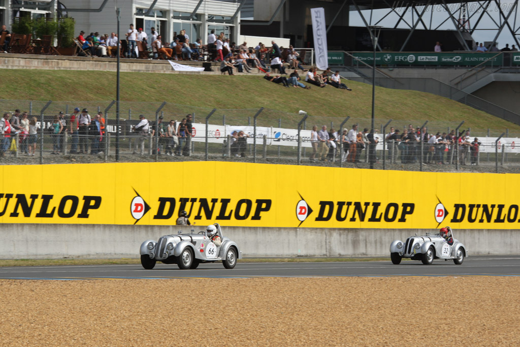 BMW 328 - Chassis: 85347 - Driver: Albert Otten  - 2014 Le Mans Classic