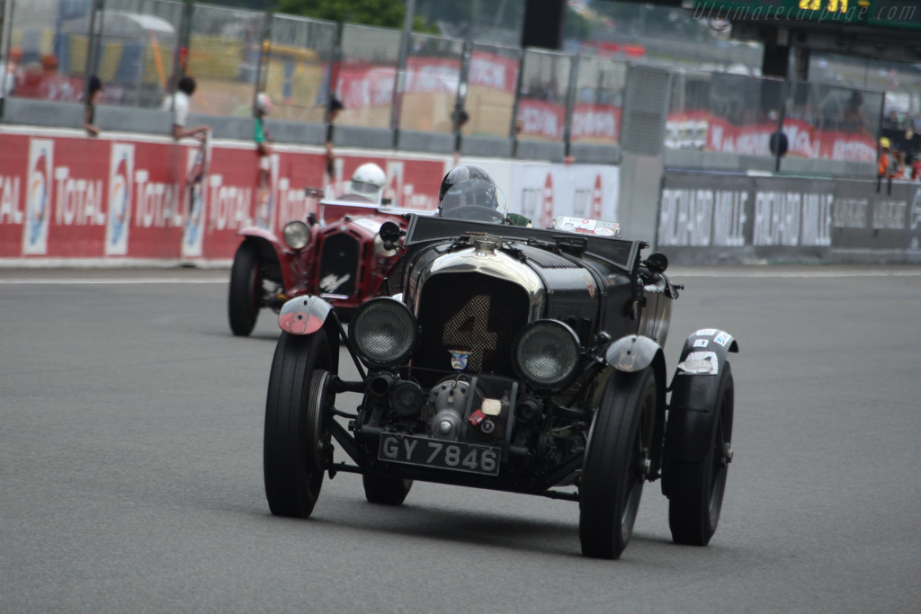 Bentley 4.5 Litre Blower - Chassis: MS3950 - Driver: Robert Fink  - 2014 Le Mans Classic