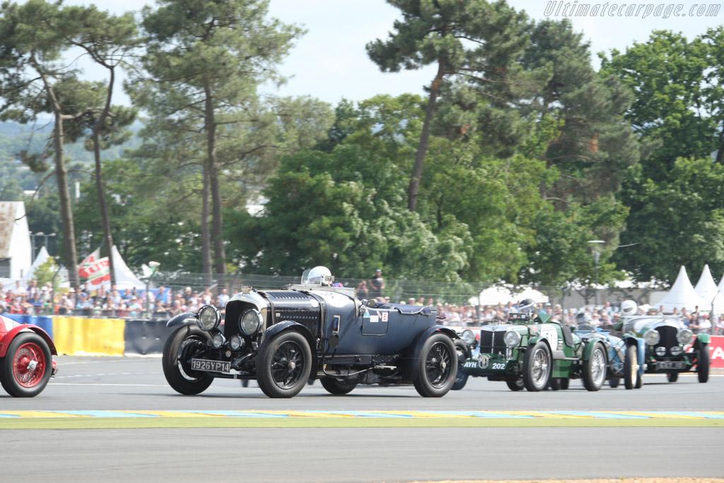 Bentley 4.5 Litre Le Mans - Chassis: MR 505 - Driver: Pascal Behr  - 2014 Le Mans Classic