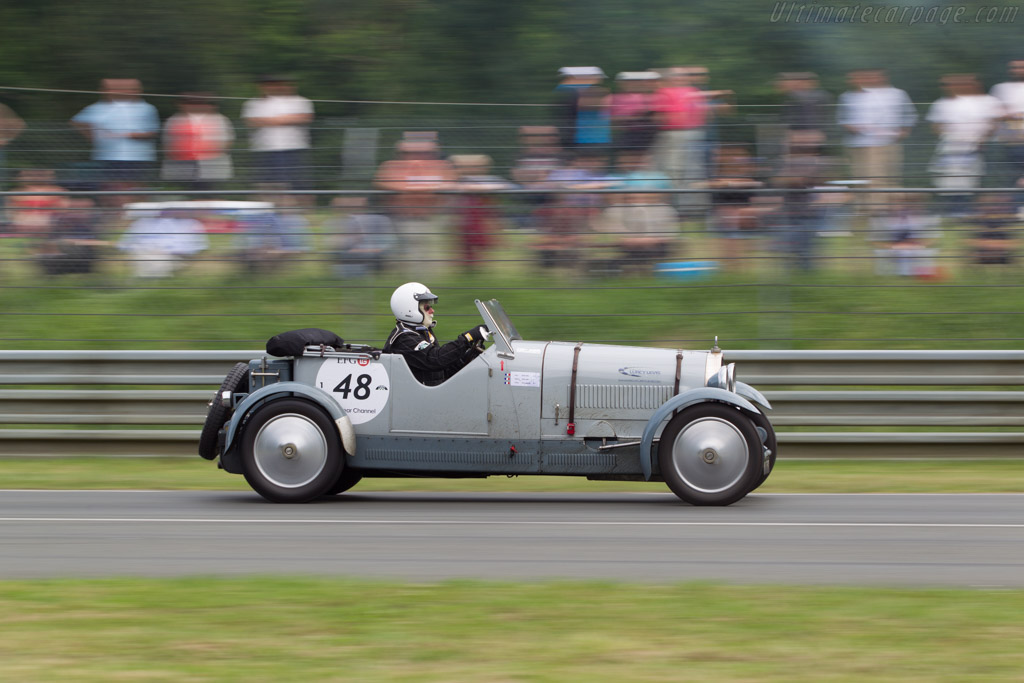 Bugatti Type 44  - Driver: Guy Dubrulle / Alain Margueritte / Julie Dubrulle  - 2014 Le Mans Classic