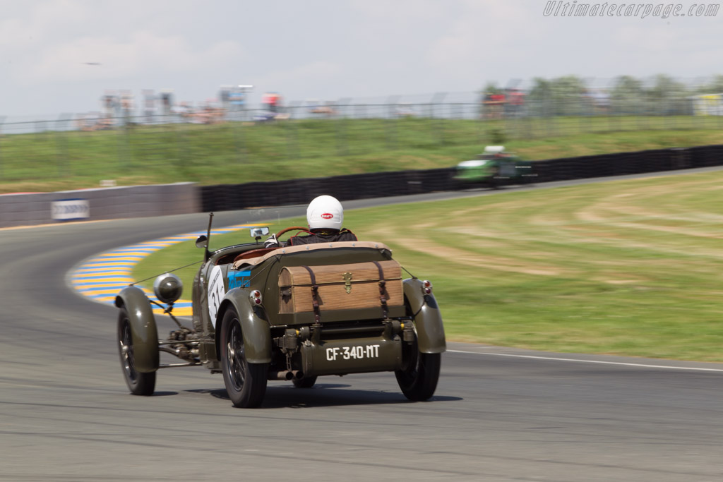 Bugatti Type 44 - Chassis: 441214 - Driver: Hugues Baudon / Frederic Novo  - 2014 Le Mans Classic