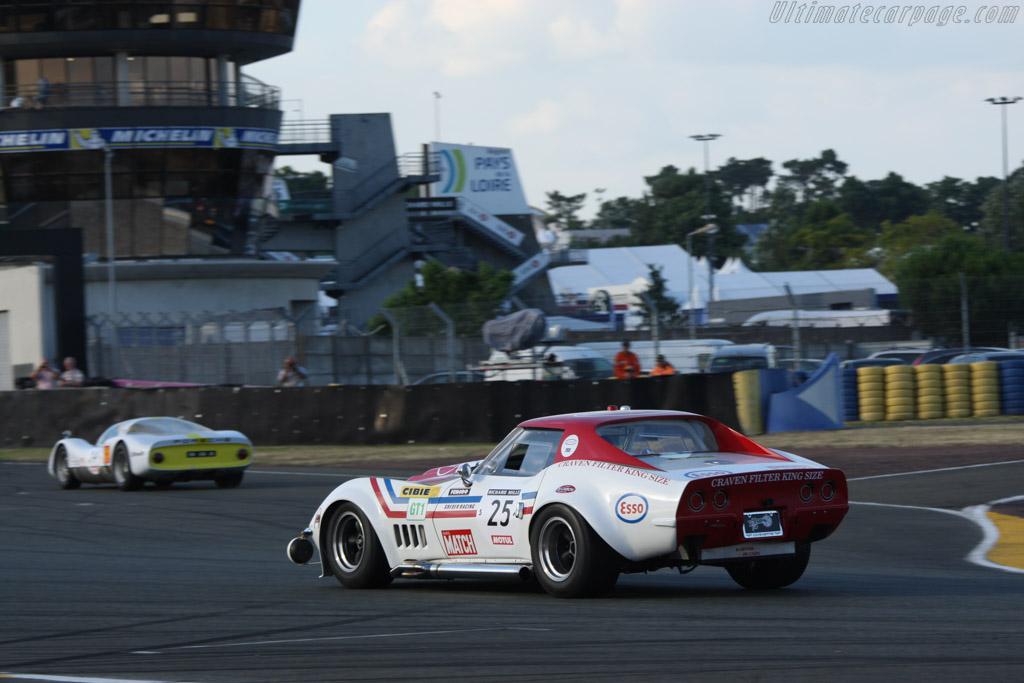 Chevrolet Corvette C3  - Driver: Marc Godfroy  - 2014 Le Mans Classic