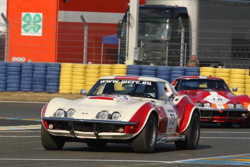Chevrolet Corvette C3  - Driver: Sebastian Margot / Claude Cassina  - 2014 Le Mans Classic