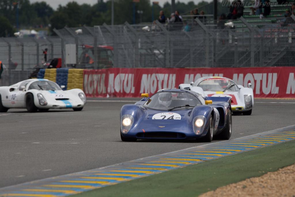 Chevron B16  - Driver: Jacques Roucolle / Joseph Zago  - 2014 Le Mans Classic