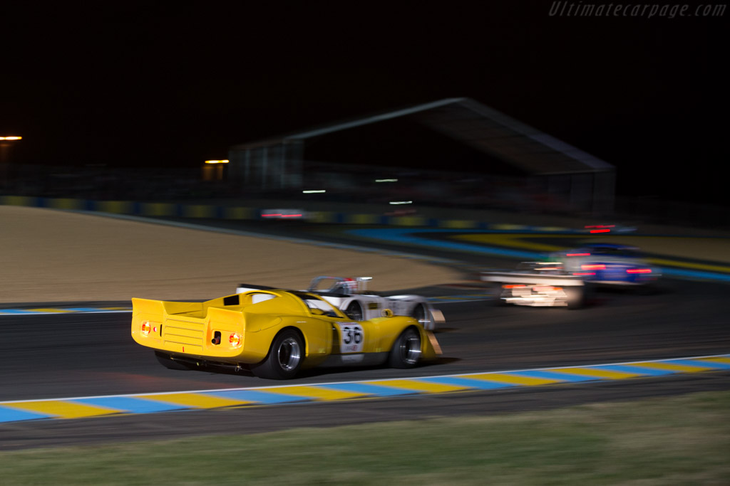Chevron B16 - Chassis: CH-DBE-35 - Driver: Franco Meiners / Emanuele Pirro  - 2014 Le Mans Classic