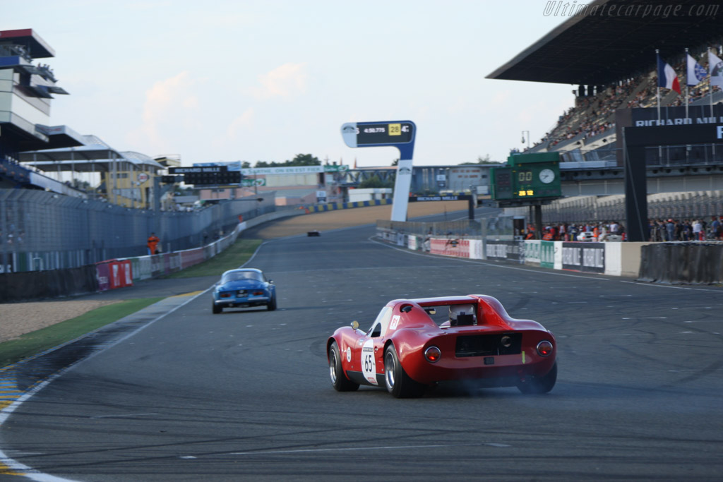 Chevron B8 - Chassis: CH-DBE-47 - Driver: Jean-Pierre Lestrade / Pierre Aviron-Violet  - 2014 Le Mans Classic