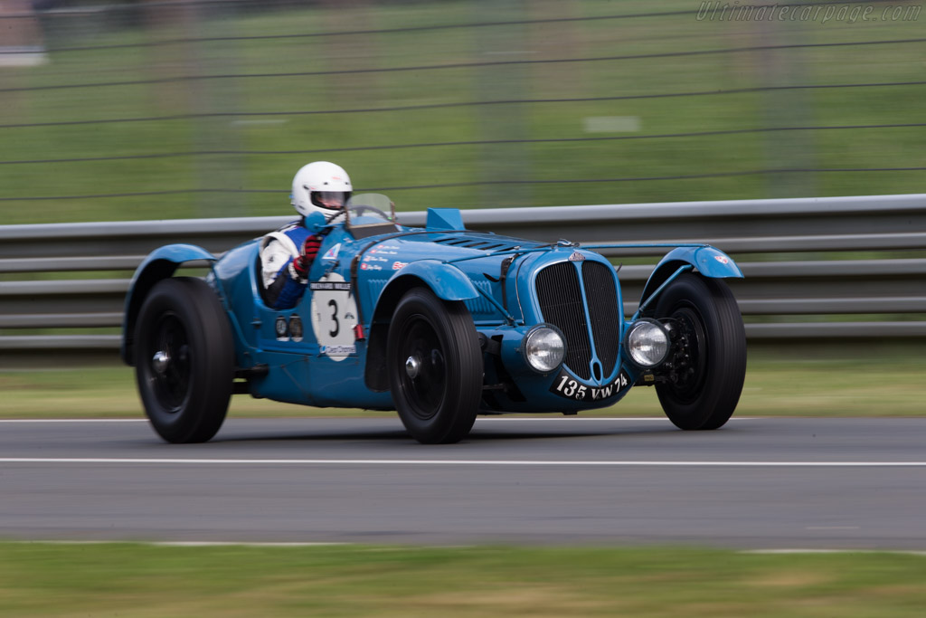 Delahaye 135 S - Chassis: 46094 - Driver: Erich Traber / Bruce Trenery / Jorg Konig  - 2014 Le Mans Classic
