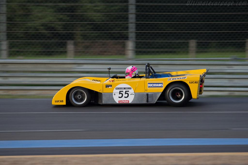 Duckhams LM Cosworth - Chassis: LM-1 - Driver: Jacques Nicolet  - 2014 Le Mans Classic