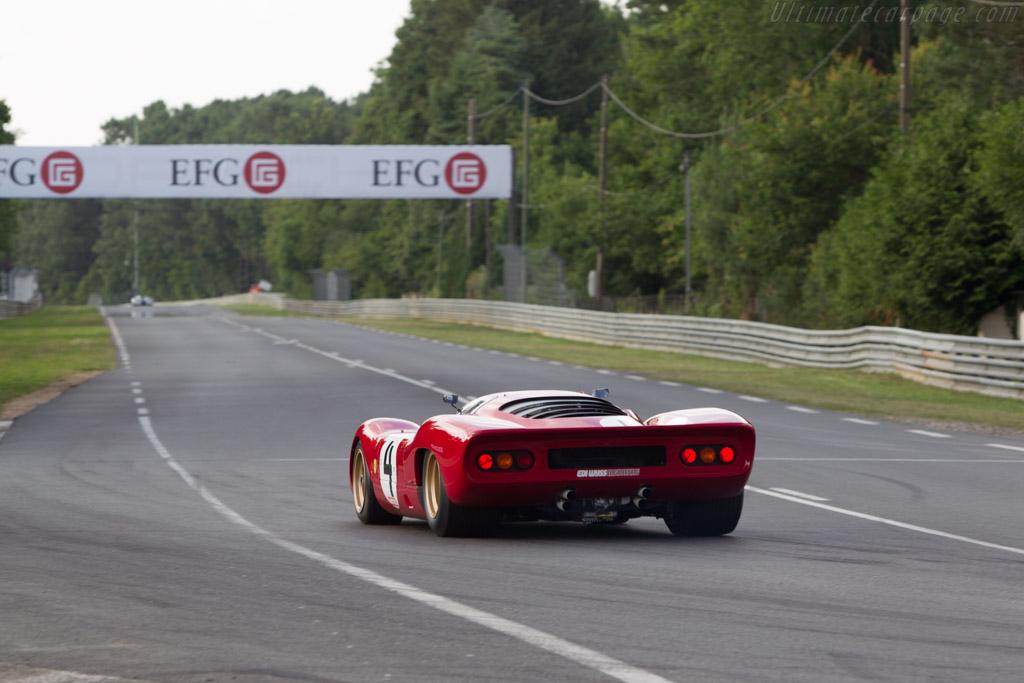 Ferrari 312 P - Chassis: 0872 - Driver: David Franklin  - 2014 Le Mans Classic