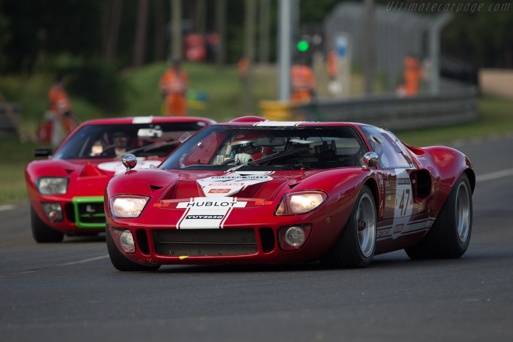 Ford GT40 - Chassis: GT40P/1089 - Driver: Philippe Vandromme / Paul Belmondo  - 2014 Le Mans Classic