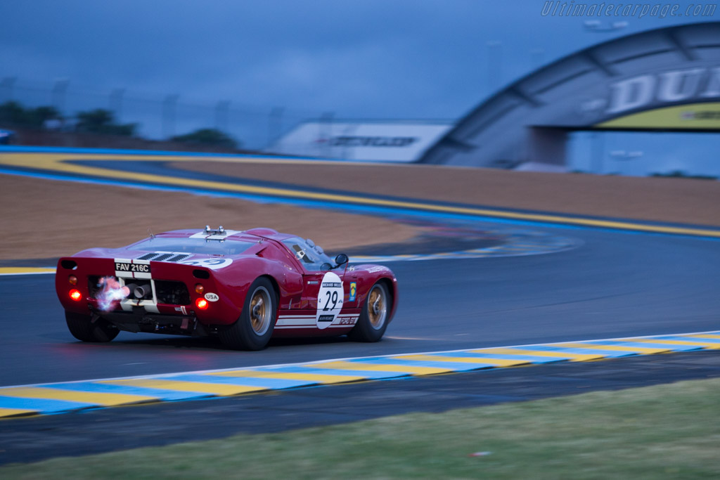 Ford GT40 - Chassis: GT40P/1005 - Driver: Leo Voyazides  - 2014 Le Mans Classic