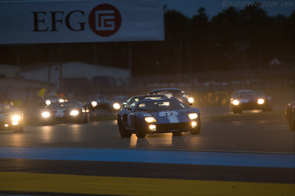 Ford GT40 - Chassis: GT40P/1062 - Driver: Hans Hugenholtz  - 2014 Le Mans Classic