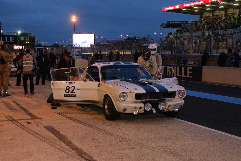 Ford Shelby Mustang GT350  - Driver: Helmut Rothenberger / Gaetan Woitrin  - 2014 Le Mans Classic