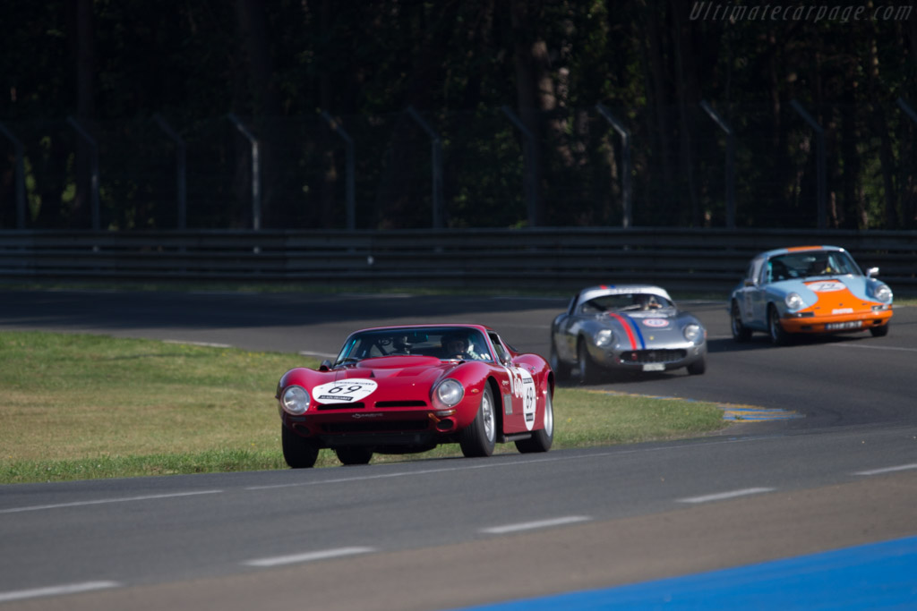 Iso Grifo A3/C - Chassis: B 0205 - Driver: Olivier de Siebenthal  - 2014 Le Mans Classic