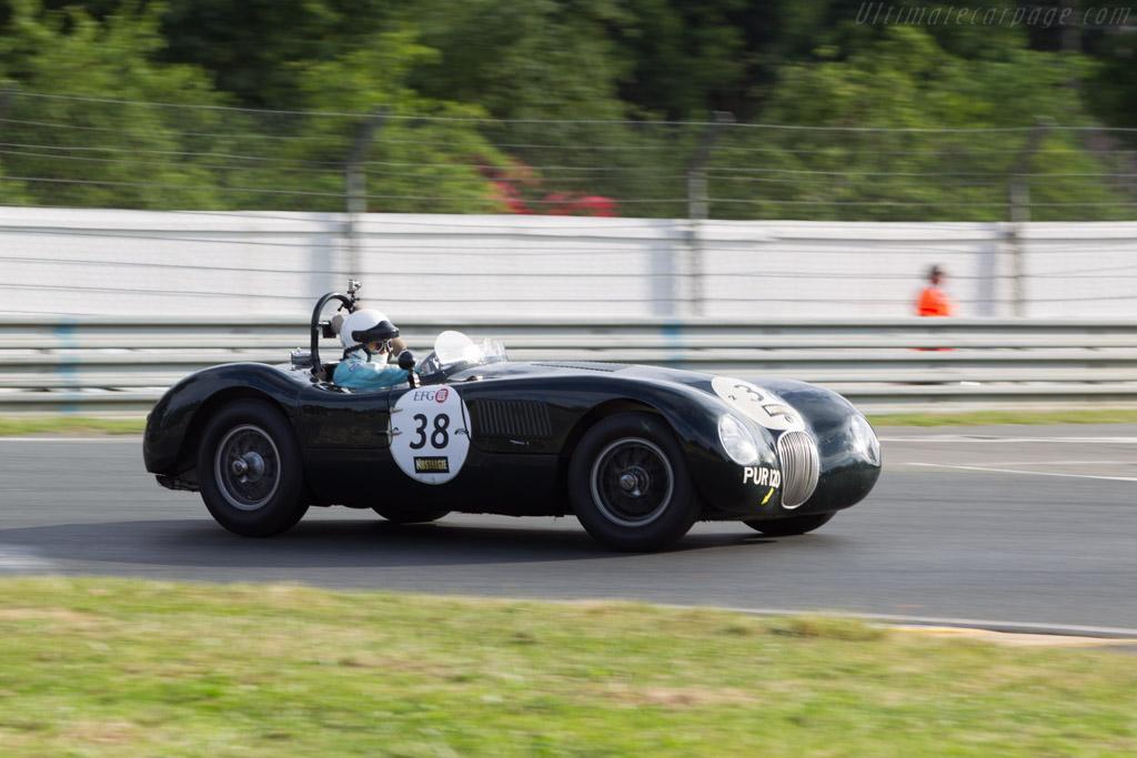 Jaguar C-Type - Chassis: XKC 043 - Driver: Nicholas Fiburgh / Robert Newall  - 2014 Le Mans Classic