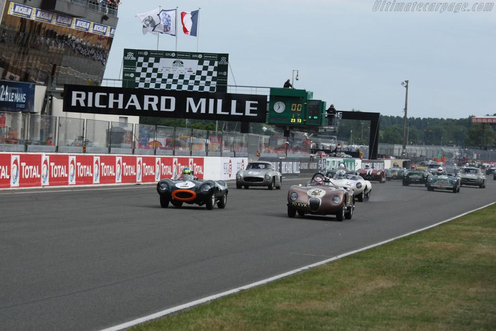 Jaguar C-Type - Chassis: XKC 018 - Driver: Alex Buncombe  - 2014 Le Mans Classic