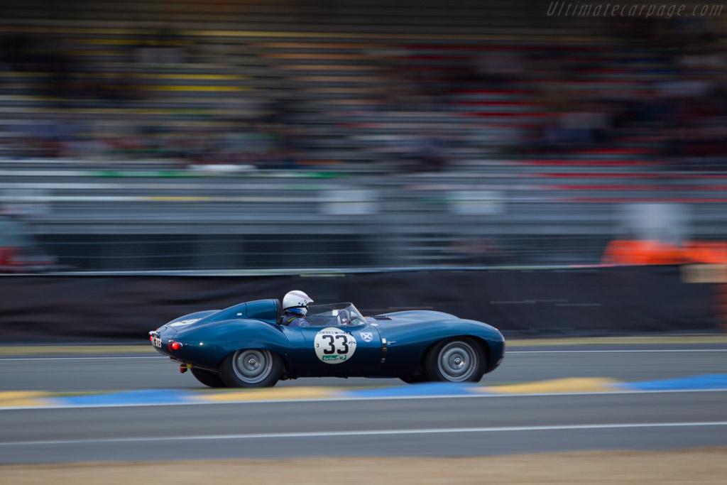 Jaguar D-Type - Chassis: XKD 561 - Driver: Alain de Cadenet / Brian Redman  - 2014 Le Mans Classic