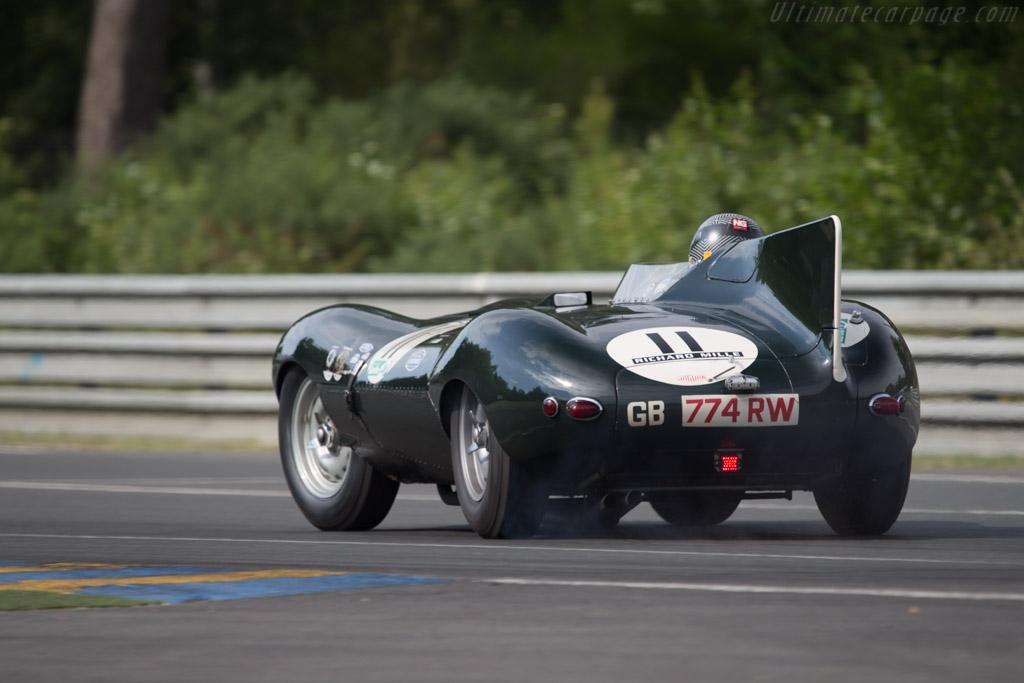 Jaguar D-Type - Chassis: XKD 505 - Driver: Andy Wallace / Richard Meaden  - 2014 Le Mans Classic