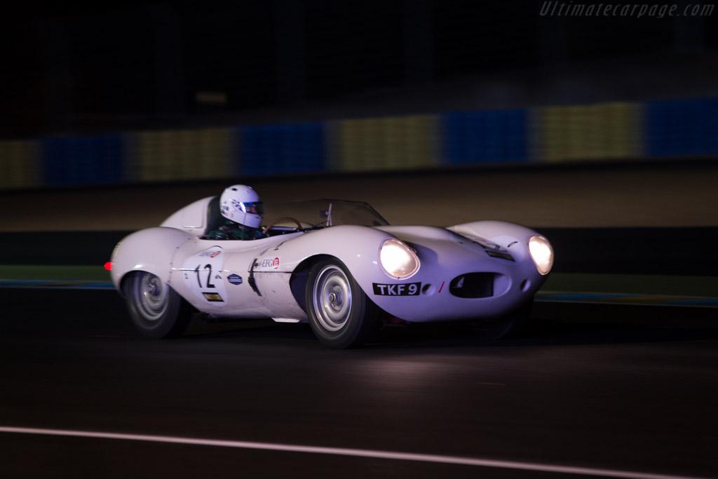 Jaguar D-Type - Chassis: XKD 517 - Driver: Carlos Monteverde / Gary Pearson / Andrew Smith / Joe Twyman  - 2014 Le Mans Classic