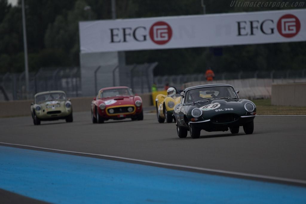 Jaguar E-Type - Chassis: 885342 - Driver: David Hall / Michael O'Shea  - 2014 Le Mans Classic
