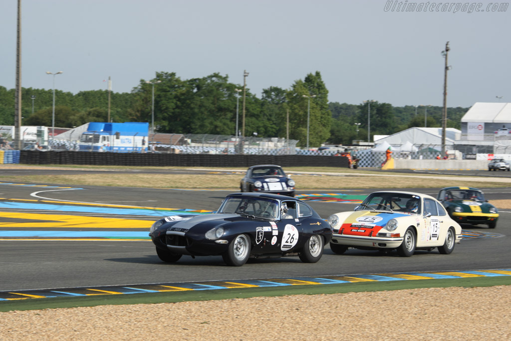 Jaguar E-Type Coupe - Chassis: 861371 - Driver: Serge Cozzolino  - 2014 Le Mans Classic