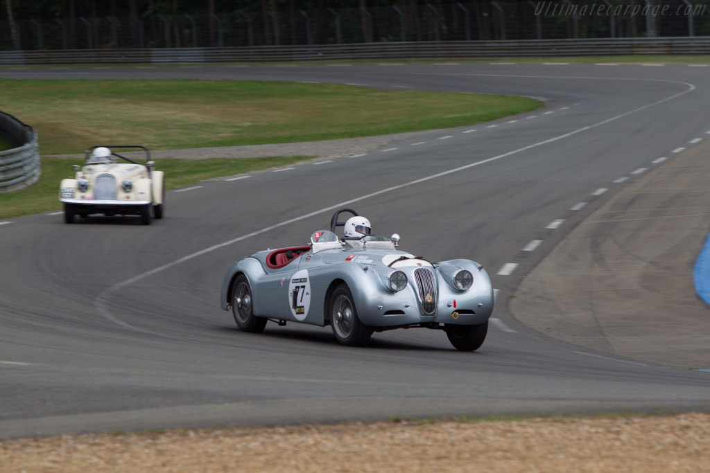 Jaguar XK 120 - Chassis: 674298 - Driver: Siamak Siassi / Alexis de Beaumont / Wolfgang Kaufman - 2014 Le Mans Classic