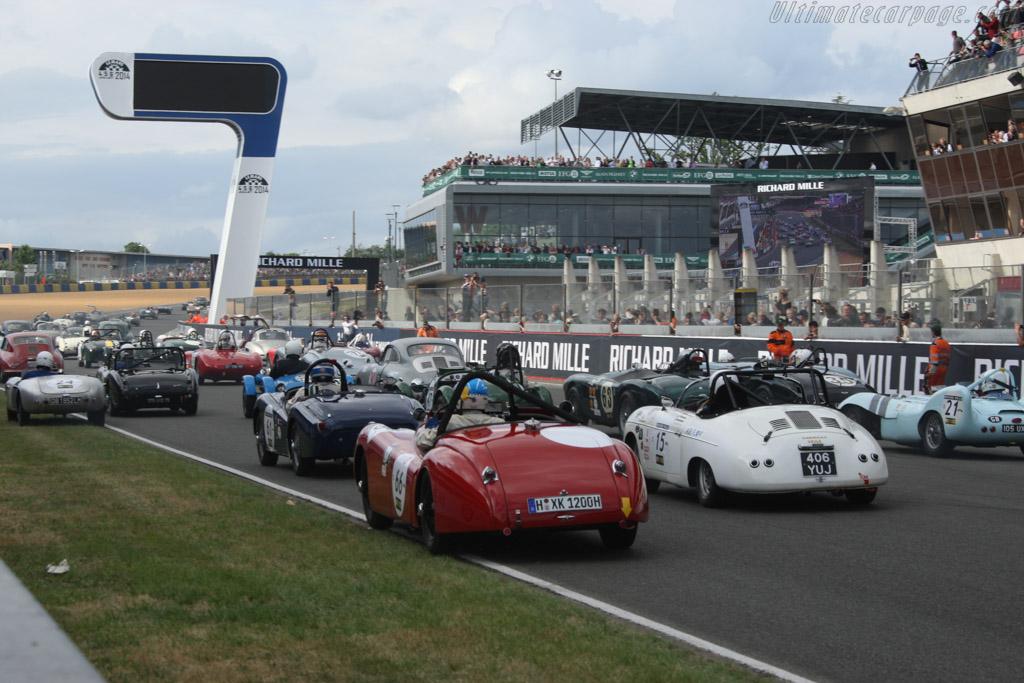 Jaguar XK 120 - Chassis: 670501 - Driver: Wolfgang Kurth / Klaus Reichle  - 2014 Le Mans Classic