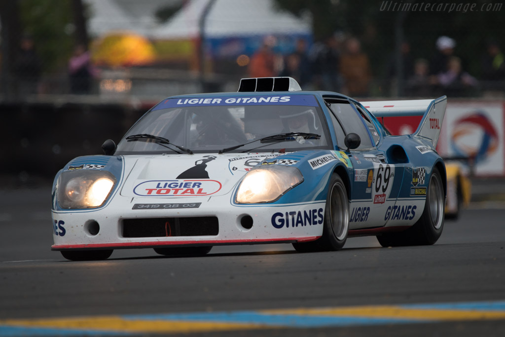 Ligier JS2 Cosworth - Chassis: 2538 73 03 - Driver: Mr John of B. / Soheil Ayari  - 2014 Le Mans Classic