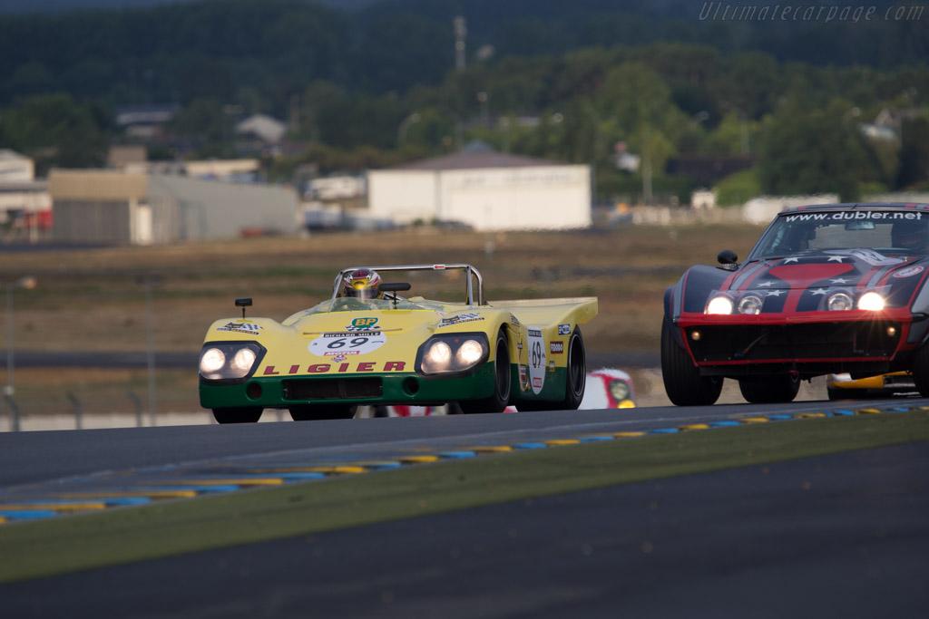 Ligier JS3 DFV - Chassis: JS3-01 - Driver: David Ferrer / Jacques Nicolet / Mr John of B.  - 2014 Le Mans Classic