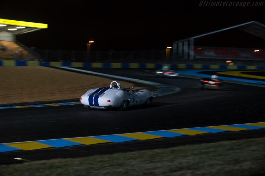 Lister Costin Jaguar - Chassis: BHL 123 - Driver: Jeff Lotman / James Burke / Dolad Edwards  - 2014 Le Mans Classic
