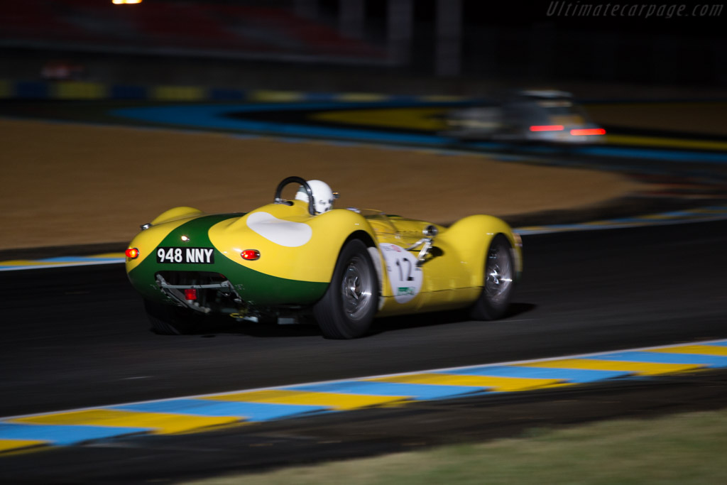 Lister Knobbly Jaguar - Chassis: BHL 105 - Driver: Christopher Lunn  - 2014 Le Mans Classic