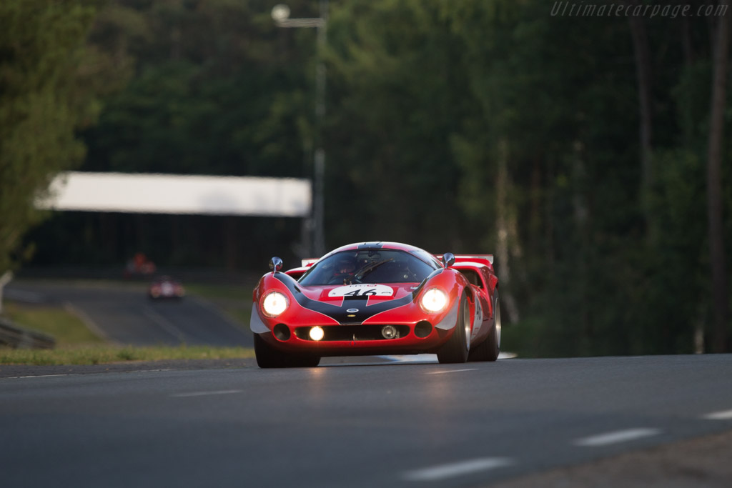 Lola T70 Mk3 Coupe - Chassis: SL73/110 - Driver: Bernard Thuner  - 2014 Le Mans Classic