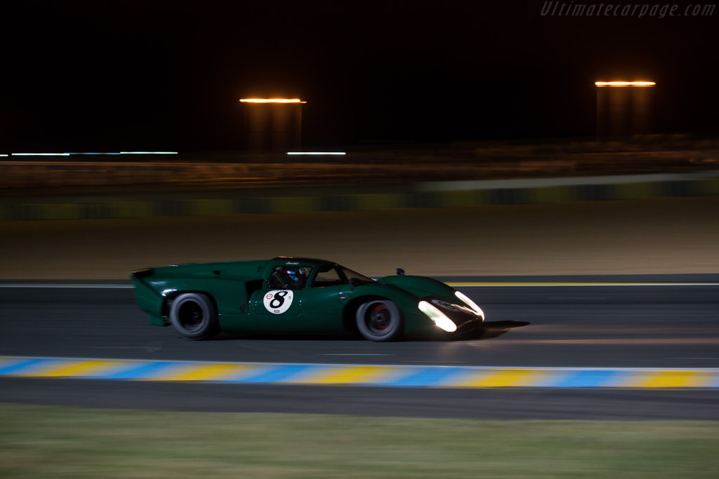 Lola T70 Mk3b Coupe - Chassis: SL76/147 - Driver: David Hart  - 2014 Le Mans Classic