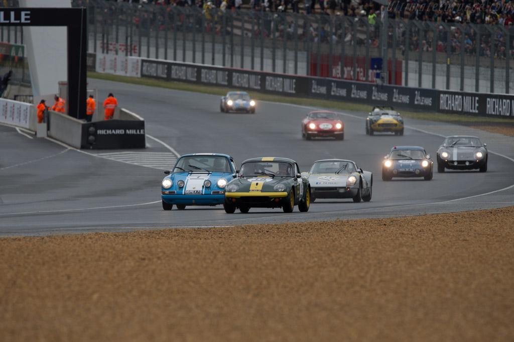 Lotus Elan - Chassis: 5747 - Driver: Laurent Queffelec  - 2014 Le Mans Classic