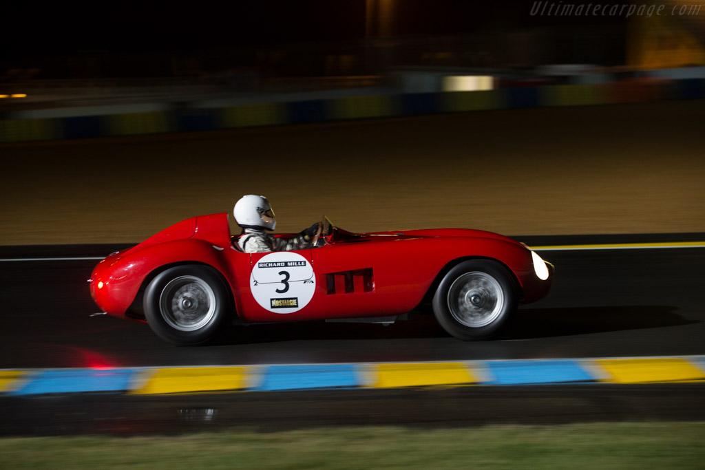 Maserati 300 S - Chassis: 3053 - Driver: Pierre Mellinger / Tommaso Gelmini  - 2014 Le Mans Classic