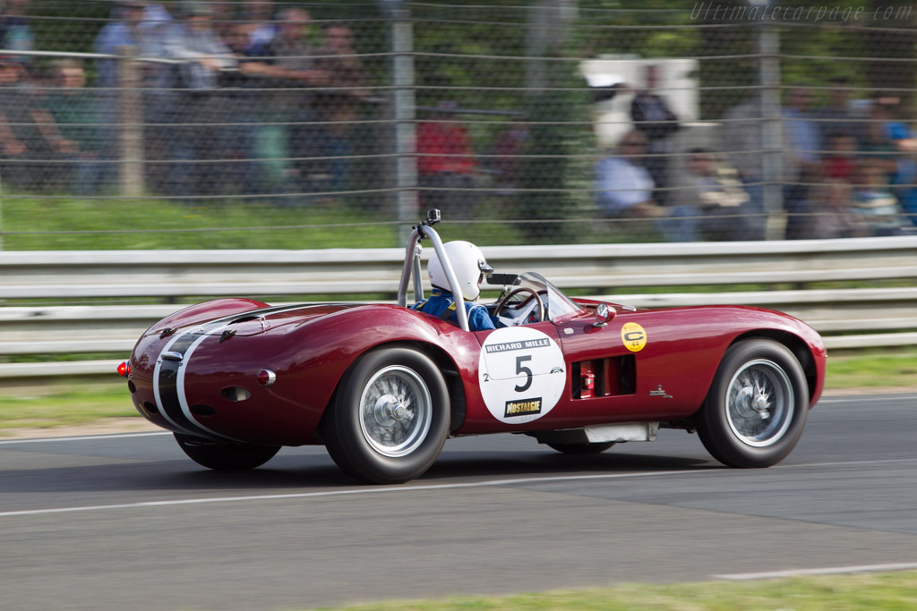Maserati 300 S - Chassis: 3058 - Driver: Pierre Rageys / Nicolas Chambon  - 2014 Le Mans Classic